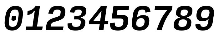 Input Mono Medium Italic Font OTHER CHARS