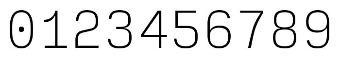 Input Mono Narrow Thin Font OTHER CHARS