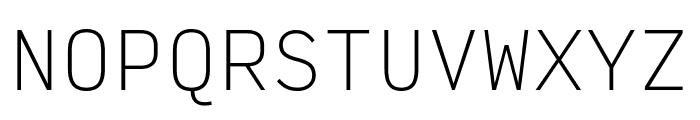Input Mono Narrow Thin Font UPPERCASE