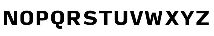 Input Sans Compressed Black Font UPPERCASE