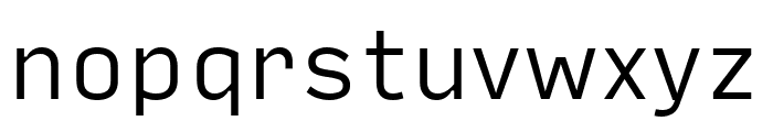 Input Sans Compressed Light Font LOWERCASE