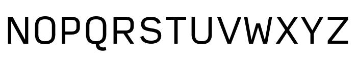 Input Sans Condensed Regular Font UPPERCASE