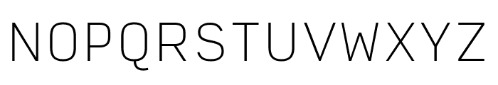 Input Sans Condensed Thin Font UPPERCASE
