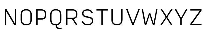 Input Sans Extra Light Font UPPERCASE