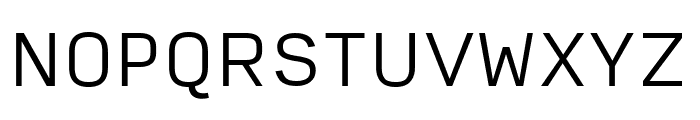 Input Sans Light Font UPPERCASE