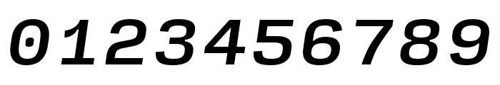 Input Sans Medium Italic Font OTHER CHARS