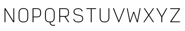 Input Sans Narrow Thin Font UPPERCASE