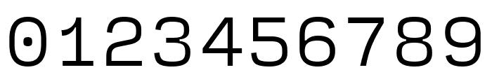 Input Serif Compressed Light Font OTHER CHARS