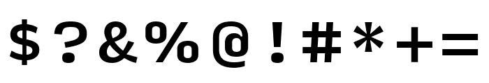 Input Serif Compressed Medium Font OTHER CHARS
