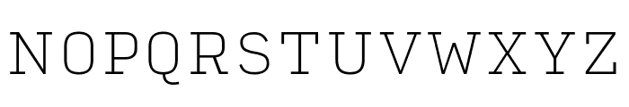 Input Serif Condensed Thin Font UPPERCASE