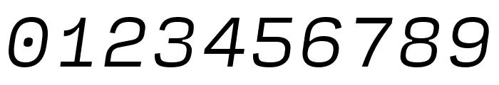 Input Serif Light Italic Font OTHER CHARS