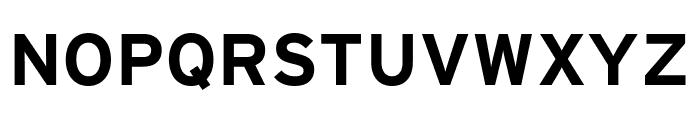Interstate Compressed Bold Font UPPERCASE