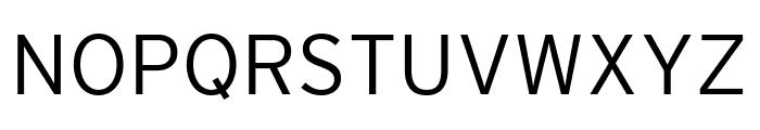 Interstate Compressed Light Font UPPERCASE