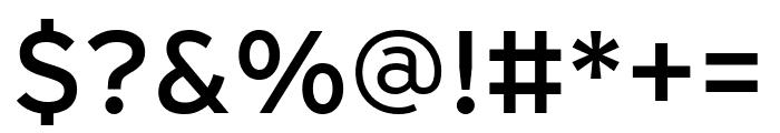 Interstate Compressed Regular Font OTHER CHARS