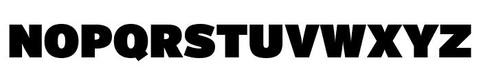 Interstate Compressed Ultra Black Font UPPERCASE