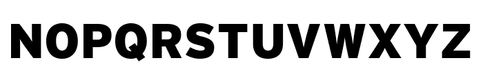 Interstate Condensed Black Font UPPERCASE