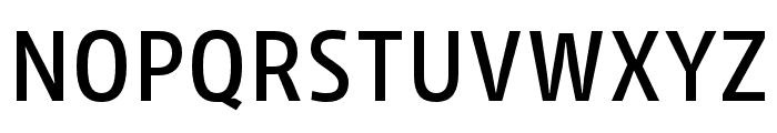 Iro Sans Book Slanted Font UPPERCASE