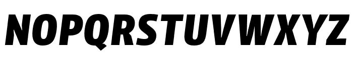 Iro Sans Extrabold Slanted Font UPPERCASE