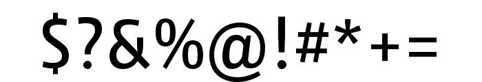 Iro Sans Regular Font OTHER CHARS