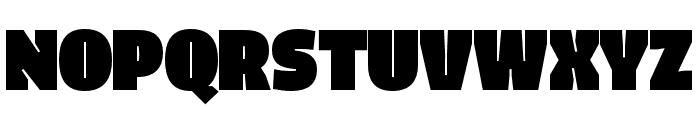 Iro Sans Unicase Black Font UPPERCASE