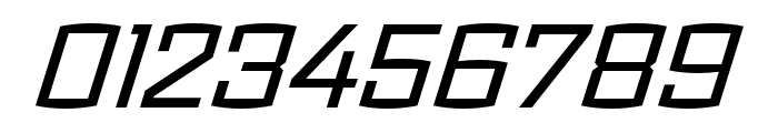 Ironstrike Stencil Regular Italic Font OTHER CHARS