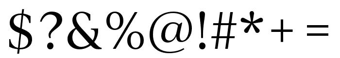 IvyJournal Regular Font OTHER CHARS