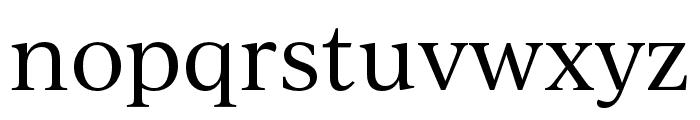 IvyJournal Regular Font LOWERCASE
