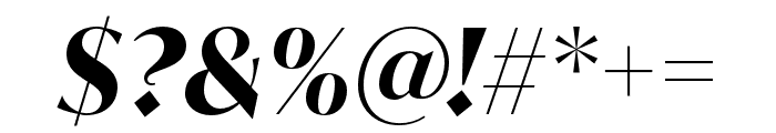 IvyMode Bold Italic Font OTHER CHARS
