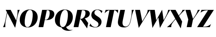 IvyMode Bold Italic Font UPPERCASE