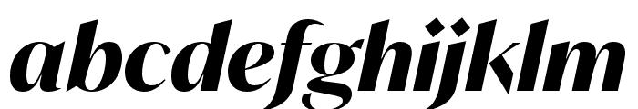 IvyMode Bold Italic Font LOWERCASE