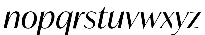 IvyMode Italic Font LOWERCASE