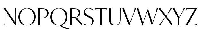 IvyMode Light Font UPPERCASE