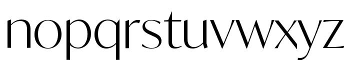 IvyMode Light Font LOWERCASE