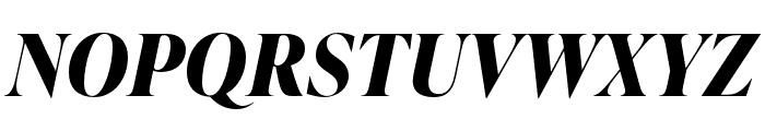 IvyPresto Display Bold Italic Font UPPERCASE