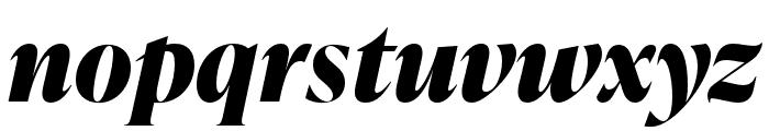 IvyPresto Display Bold Italic Font LOWERCASE