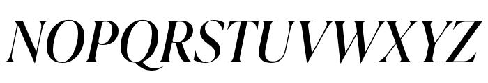 IvyPresto Display Italic Font UPPERCASE