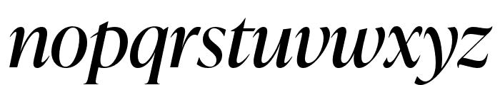 IvyPresto Display Italic Font LOWERCASE