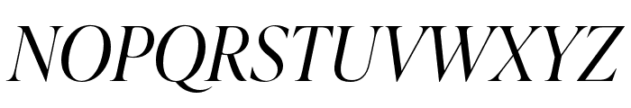 IvyPresto Display Light Italic Font UPPERCASE