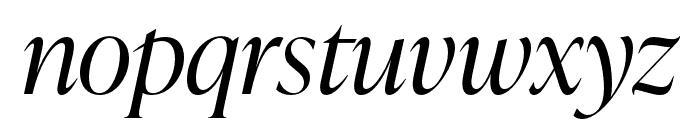 IvyPresto Display Light Italic Font LOWERCASE