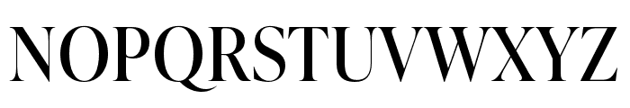 IvyPresto Display Regular Font UPPERCASE