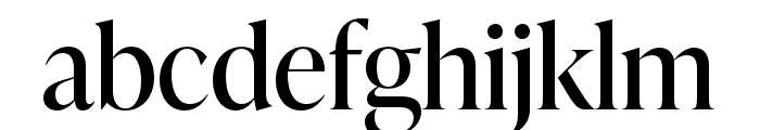 IvyPresto Display Regular Font LOWERCASE