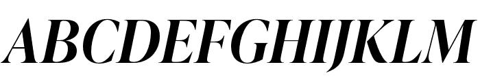 IvyPresto Display SemiBold Italic Font UPPERCASE