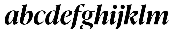 IvyPresto Display SemiBold Italic Font LOWERCASE