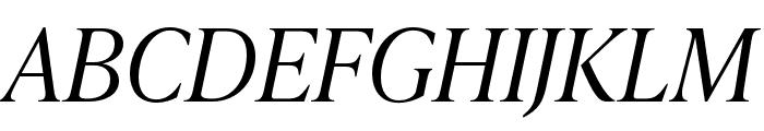 IvyPresto Headline Light Italic Font UPPERCASE