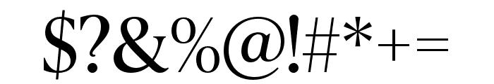 IvyPresto Headline Regular Font OTHER CHARS