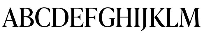 IvyPresto Headline Regular Font UPPERCASE