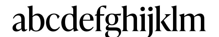 IvyPresto Headline Regular Font LOWERCASE