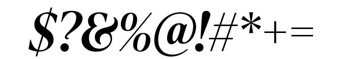 IvyPresto Headline SemiBold Italic Font OTHER CHARS