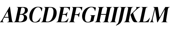 IvyPresto Headline SemiBold Italic Font UPPERCASE