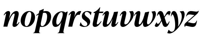 IvyPresto Headline SemiBold Italic Font LOWERCASE